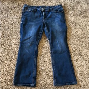 Seven7 Slim Boot Jeans Sz 22